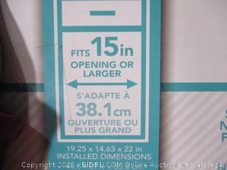Grayline- Slideout Cabinet Helpers- Double Sliding Trash Cans