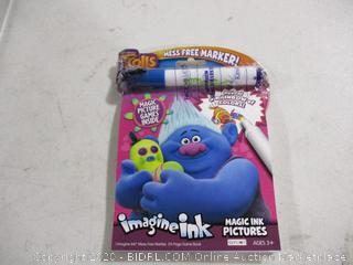 Bendon- Trolls-Imagine Ink Magic Ink Pictures