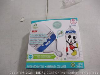 Nuk- Disney Baby- Orthodontic Bottle- 3 Pack