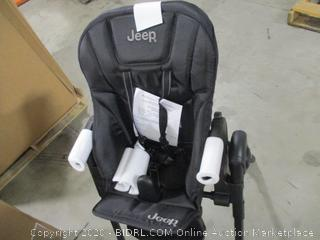 Jeep Classic Convertible High Chair For Babies And Toddlers (Midnight Black,  $107 Retail)