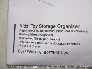 Kids' Toy Storage Organizer