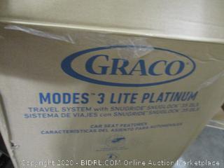 Graco Modes 3 Lite Platinum Travel System In Newport ($399 Retail)