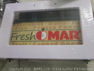 Melissa & Doug Wooden Fresh Mart Grocery Store ($162 Retail)