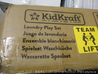 KidsKraft Espresso Laundry Set