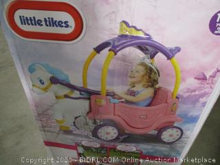 Little Tikes Princess Horse & Carriage ($119 Retail)