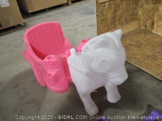 Little Tikes Princess Horse & Carriage ($119 Retail)