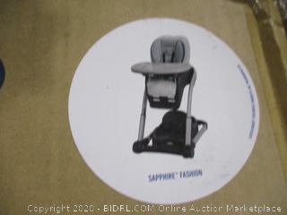 Graco- Blossom- High Chair- Sapphire Fashion
