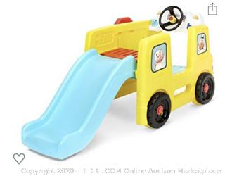 Little Tikes - Little Baby Bum Wheels On The Bus Climber and Slide