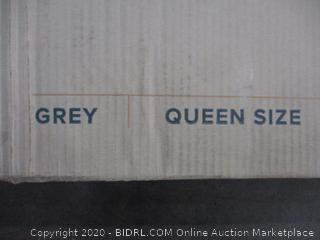 Upholstered Platform Bed Size Queen (Sealed)