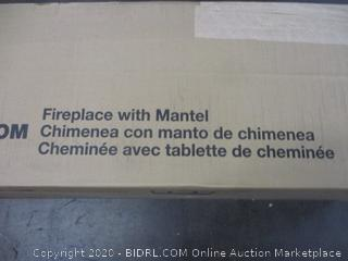 Fireplace w/ Mantel (Sealed)