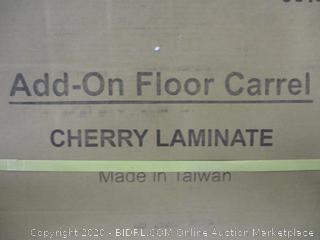 Add-On Floor Carrel (Sealed) (Box Damage)
