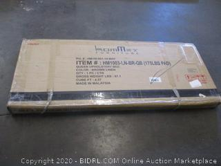 Upholstered Bed (Box Damage)