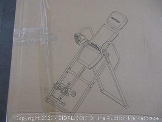 Inversion Table (Some Boxes May Be Damage)