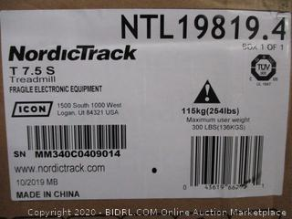 NordicTrack Treadmill (Box Damaged)