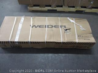 Weider Bench (Sealed) (Box Damage)