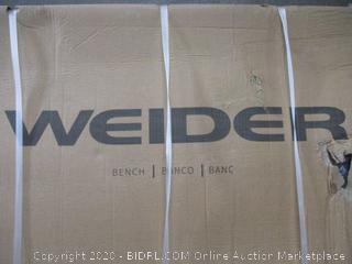 Weider Bench (Sealed) (Box Damage)