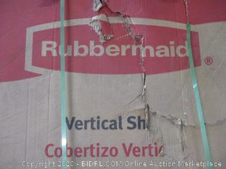 Rubbermaid Vertical  Shed (Box Damage)