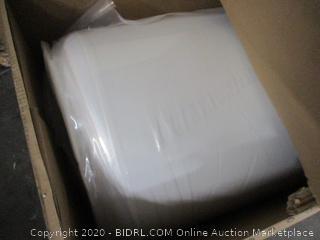 "12"" Gel Memory Foam Green Tea Mattress Size Queen (Box Damage)"