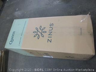 "8"" Memory Foam Pressure Relief Green Tea Mattress Size Queen"