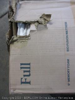 """5"""" Memory Foam Bio-Fusion Mattress (Box Damage)"""