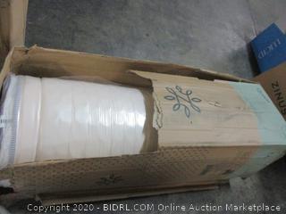 """12"""" icoil Spring Gel Foam Cooling Mattress (Box Damage)"""