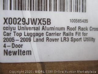 Roof Rack Car Top Luggage Carrier Rails