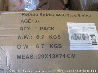 Spider Web Tree Swing (Box Damage)