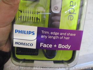 Philips Norelco OneBlade Face + Body Trimmer