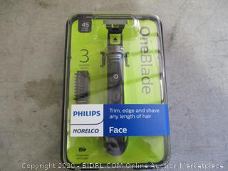 Philips Norelco OneBlade Face Trimmer