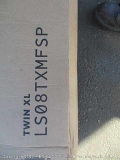 "8"" Spring and Memory Foam Hybrid Mattress Size Twin XL"