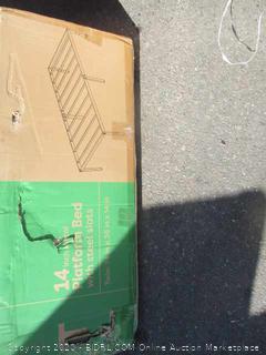 14 in. Platform Bed w/ Steel Slats Size Twin (Box Damage)