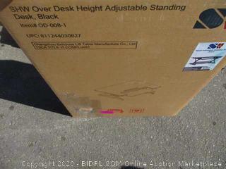 Over Desk Height Adjustable Standing Desk