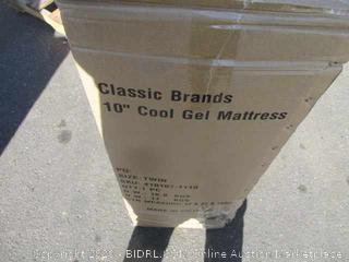 "10"" Cool Gel Mattress Size Twin"