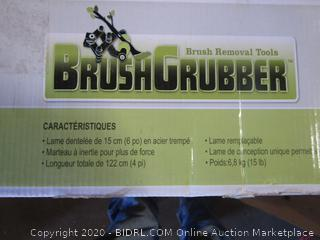 Brush Grubber See Pictures