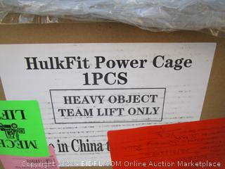 Hulk Fit Power Cage  Please Preview for Exact model.color /box condition may vary