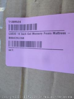 Lucid Foam Mattress