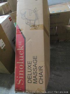 Sinoluck Deluxe Massage Chair Incomplete