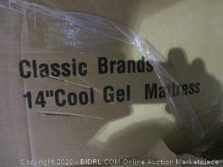 "Classic Brand 14"" Cool Gel Mattress  Queen"