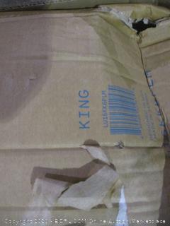 Lucid Gel Memory Foam Mattress King