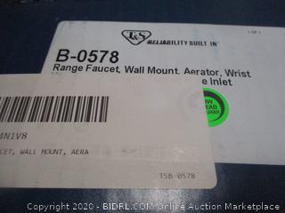Range Faucet Wall Mount Aerator