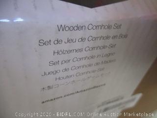 Wooden Cornhole Set