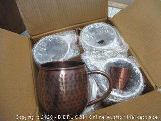 Moscow Mule 100% Copper Mugs  new