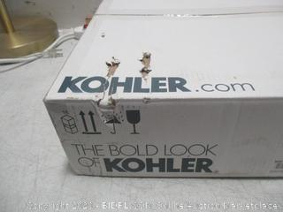 Kohler round Front Bidet Seat new