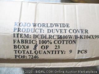Box Lot Duvet