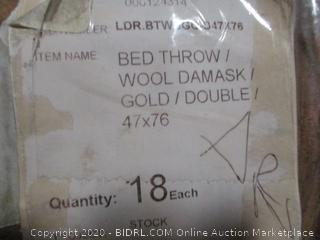 Box Lot Double Bed Throw