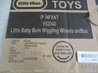 Little tikes Little Baby Bum Wiggling Wheels on Bus