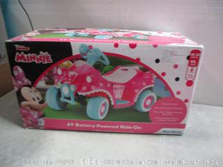 Minnie Battery Powered Ride On