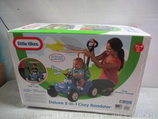 Little tikes Deluxe 2 in 1 Cozy Roadster