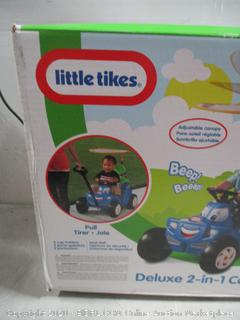 Little tikes Deluxe 2 in 1 Cozy Roadster