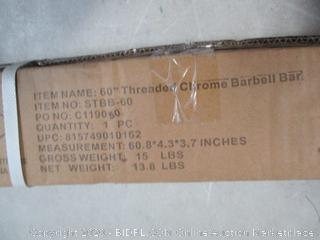 Threaded Barbell Bar